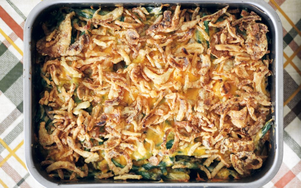Recipe: How to Make a Cannabis-Infused Green Bean Casserole