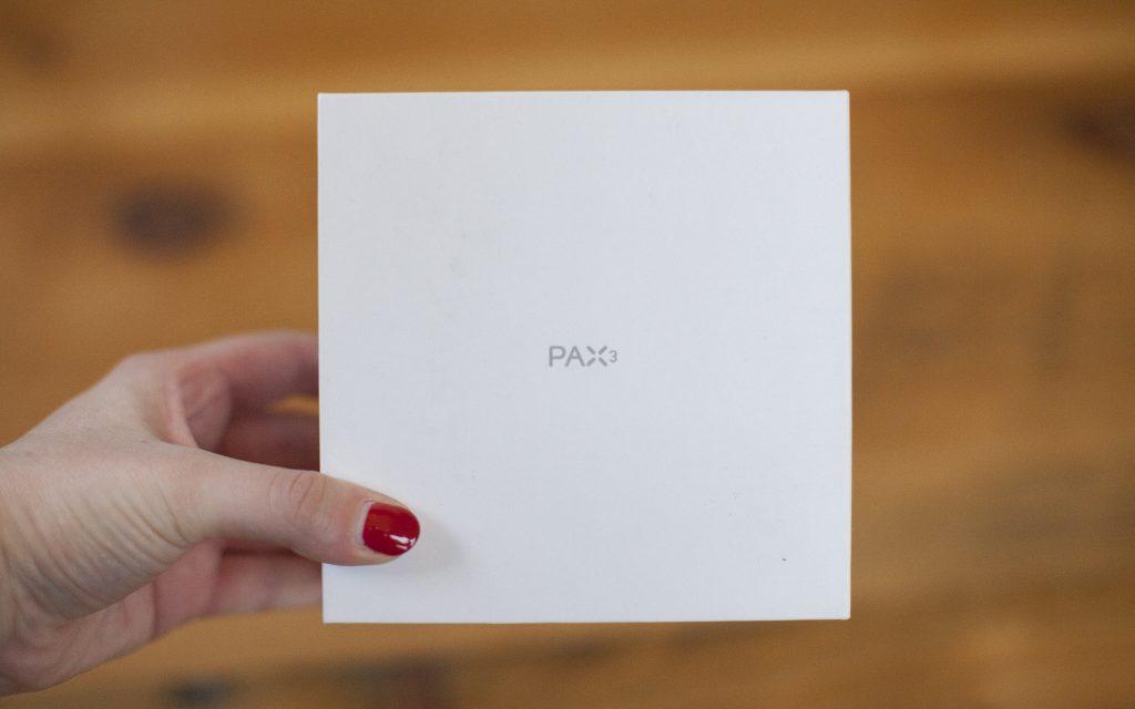 Pax 3 portable vaporizer packaging