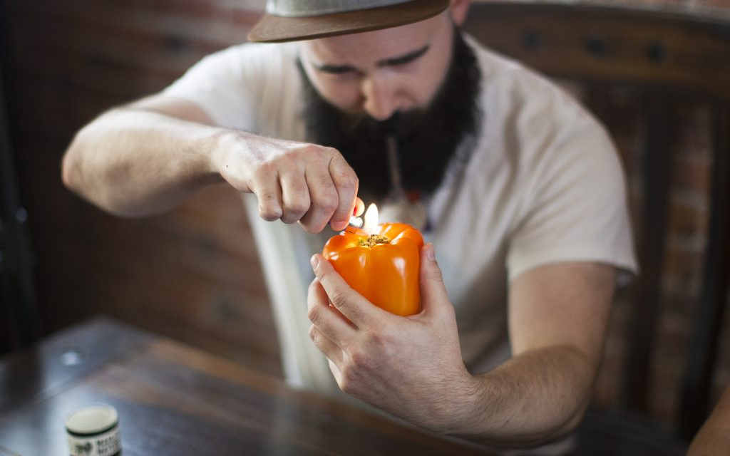 homemade bell pepper smoking pipe & How to Make a Homemade Bong or Pipe: 7 DIY Tips | Leafly