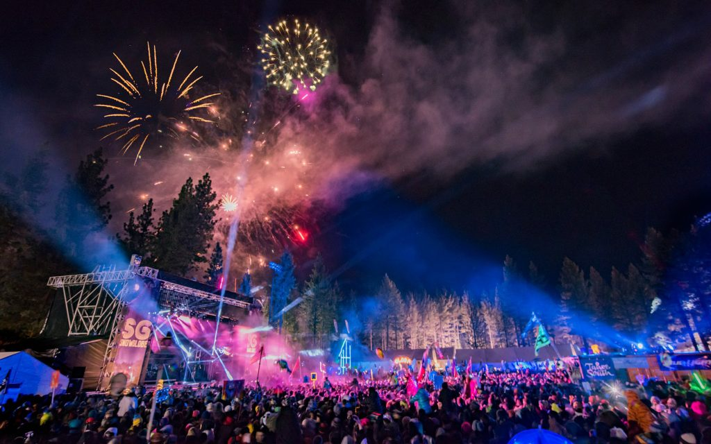The Snowglobe Music Festival in Lake Tahoe, CA