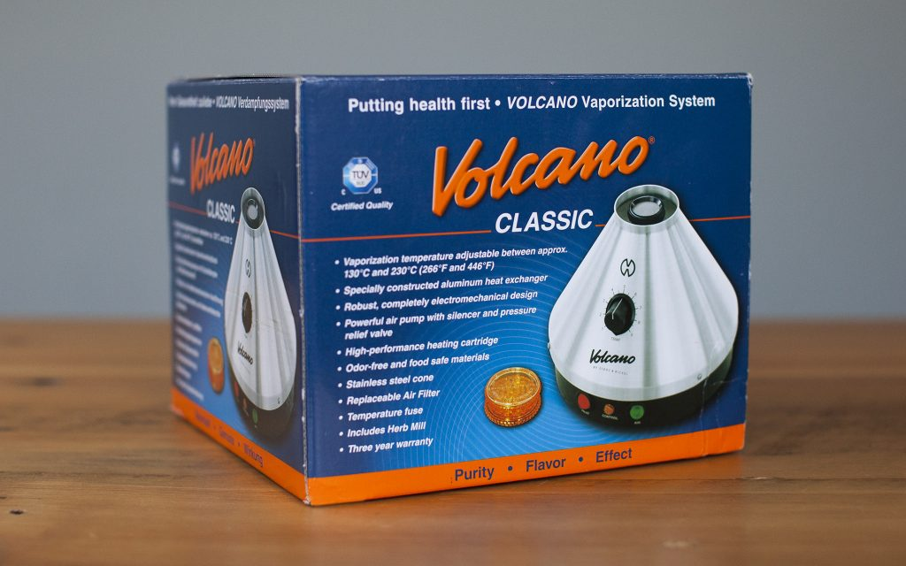 The classic Volcano vaporizer