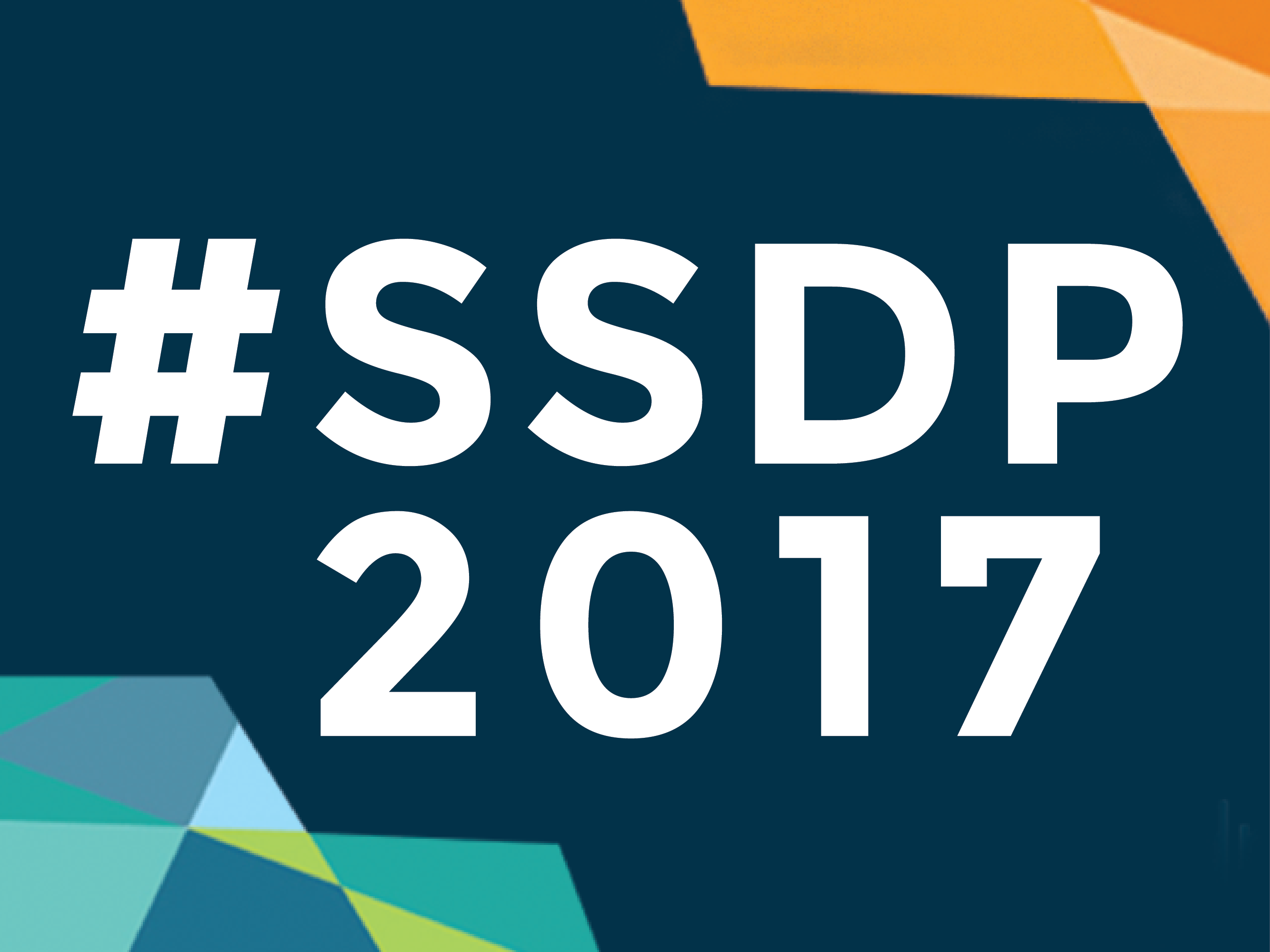 SSDP 2017 Conference