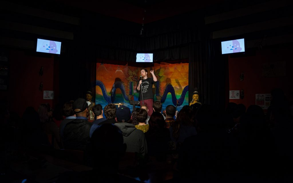 Billy Anderson at Gateway Cannabis Comedy Show at Jai Thai in Capitol Hill, Seattle