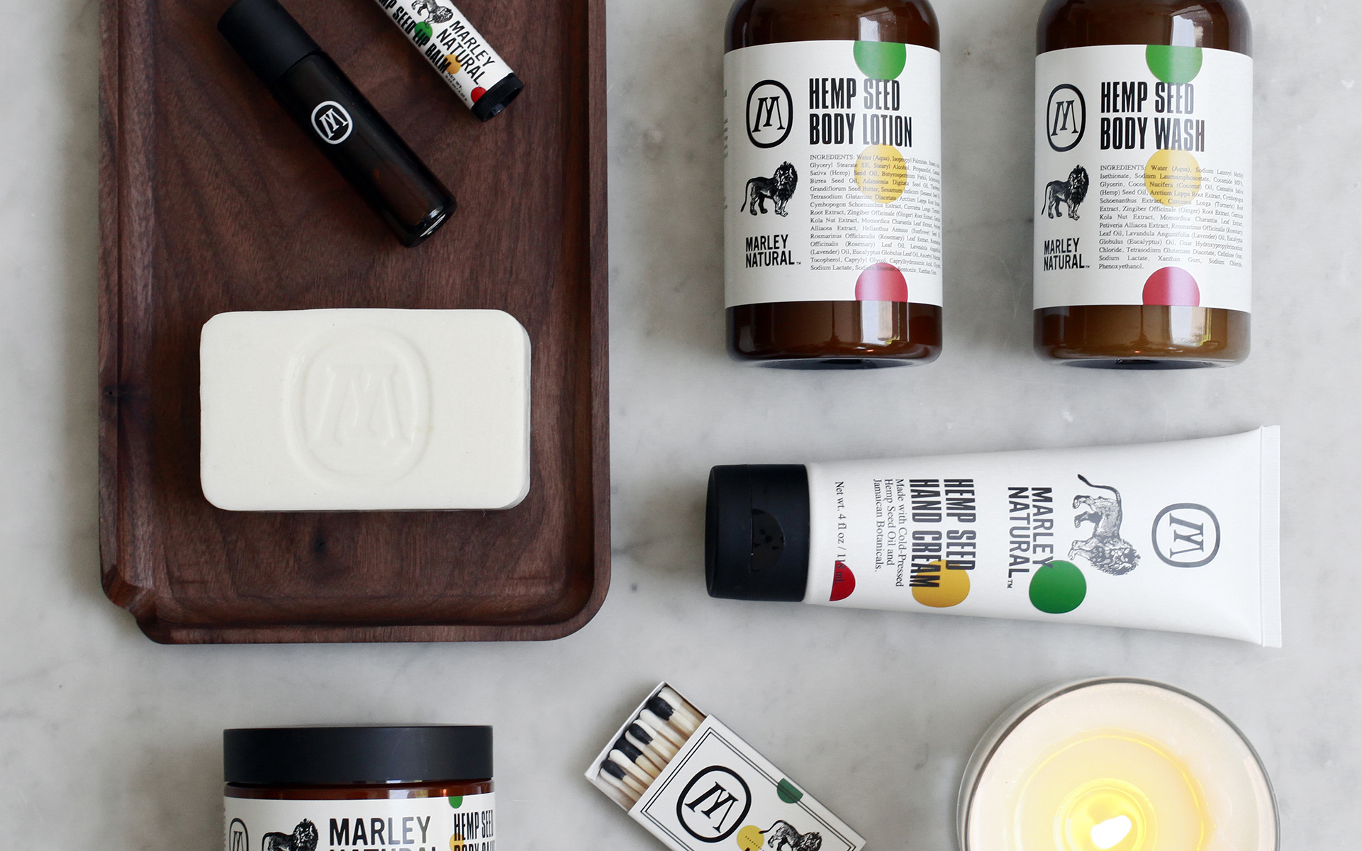 Marley Natural Accessories Body Care