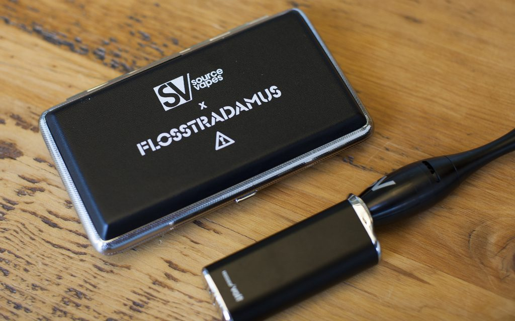 Loading and operating the Flosstradamus concentrate vape pen