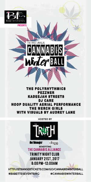 Cannabis Winter Ball