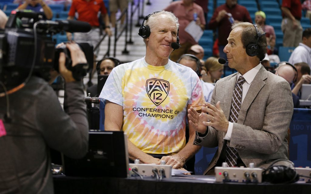 Bill Walton Derails College Football National Championship Coverage to Talk Cannabis