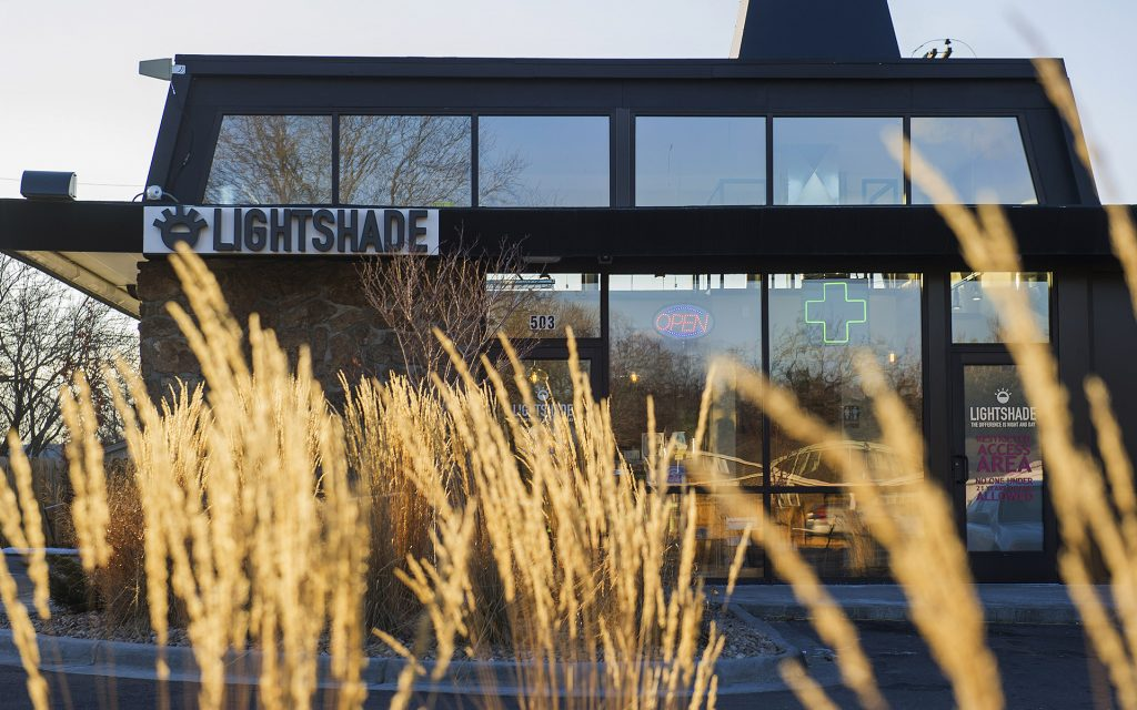 Lightshade dispensary in Denver, CO - one of the best dispensaries in Leafly List 2016