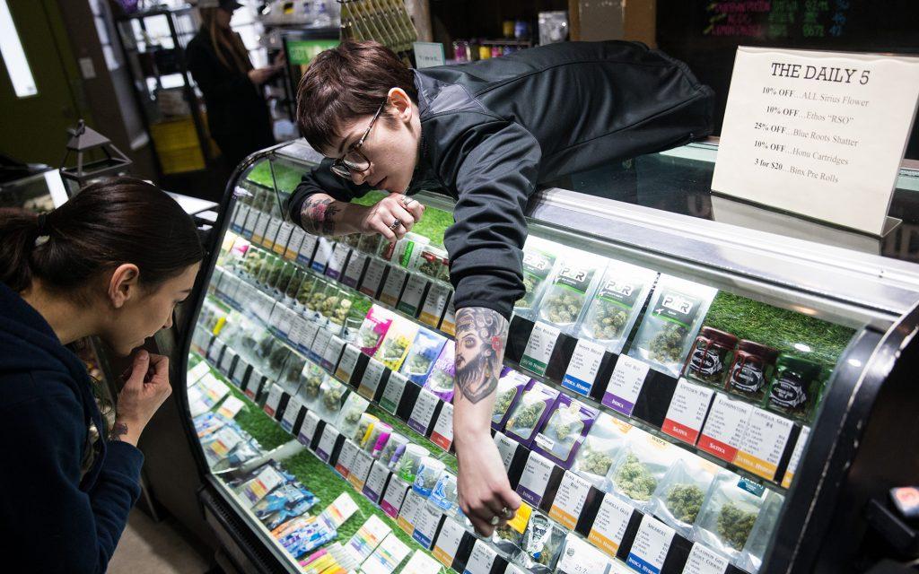 Budtender at World of Weed in Tacoma, WA
