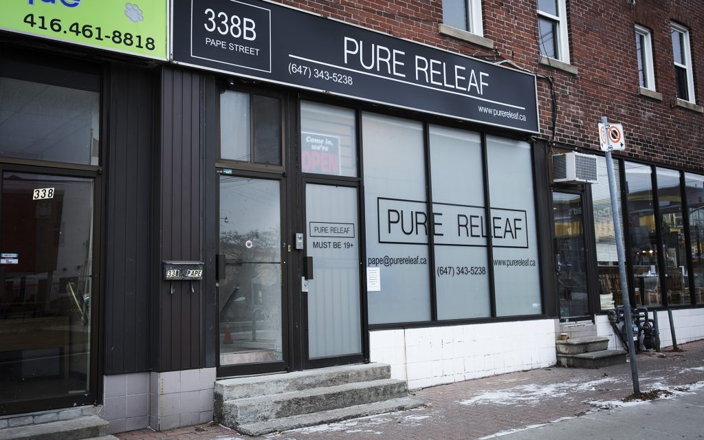 Leafly List 2016 winner: Pure Releaf cannabis dispensary in Ontario