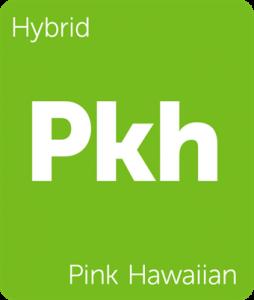 Leafly Pink Hawaiian hybrid cannabis strain