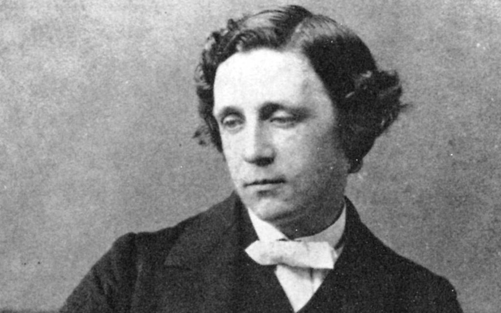British author Lewis Carroll