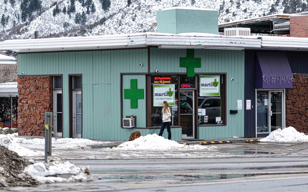 Colorado Marijuana Shop