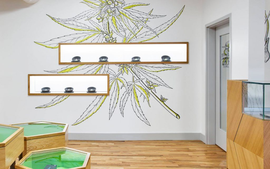 Dispensary 33's Beautiful Medical Marijuana Dispensary Design in Chicago Illinois