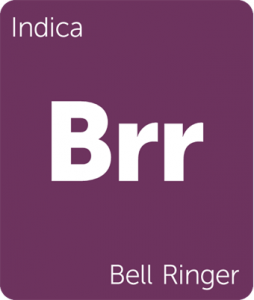 Leafly Bell Ringer indica cannabis strain tile