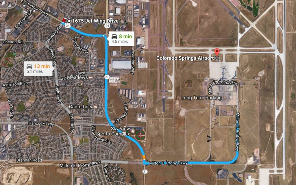 The Closest Marijuana Dispensary to the Colorado Springs Airport