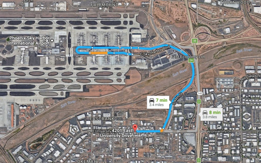 The Closest Marijuana Dispensary to the Phoenix Sky Harbor International Airport