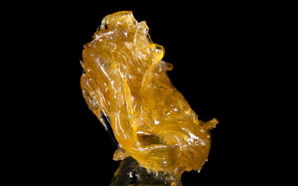 Alien Rock C Cannabis Shatter Hash
