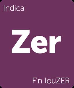 Zer F'n louZER Leafly cannabis strain tile