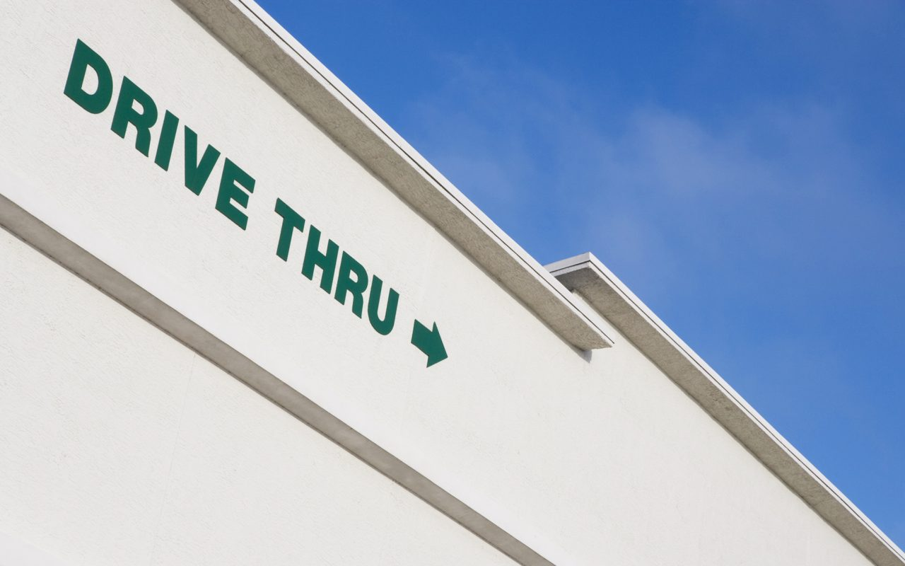 Drive-through pot shop will offer a speedy way to buy weed