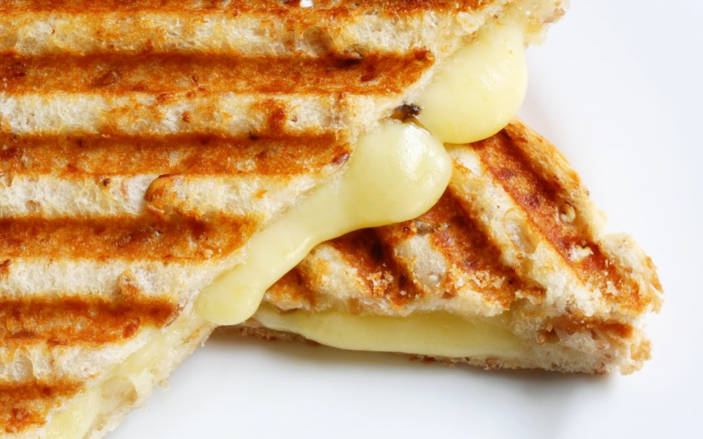 Yammie's Noshery grilled cheese: gourmet snack recipe for weed munchies