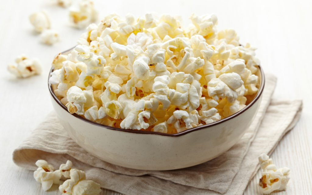 Fancy popcorn: gourmet snack recipe for weed munchies
