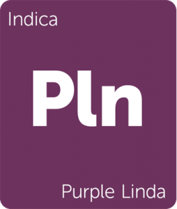 Purple Linda Leafly cannabis strain tile