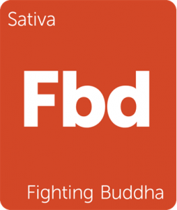 Fighting Buddha Leafly cannabis strain tile