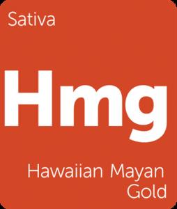 Hmg Hawaiian Mayan Gold Leafly cannabis strain tile