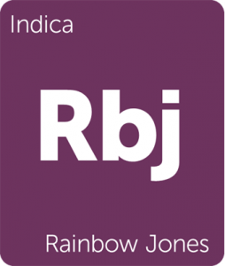 Rbj Rainbow Jones Leafly cannabis strain tile