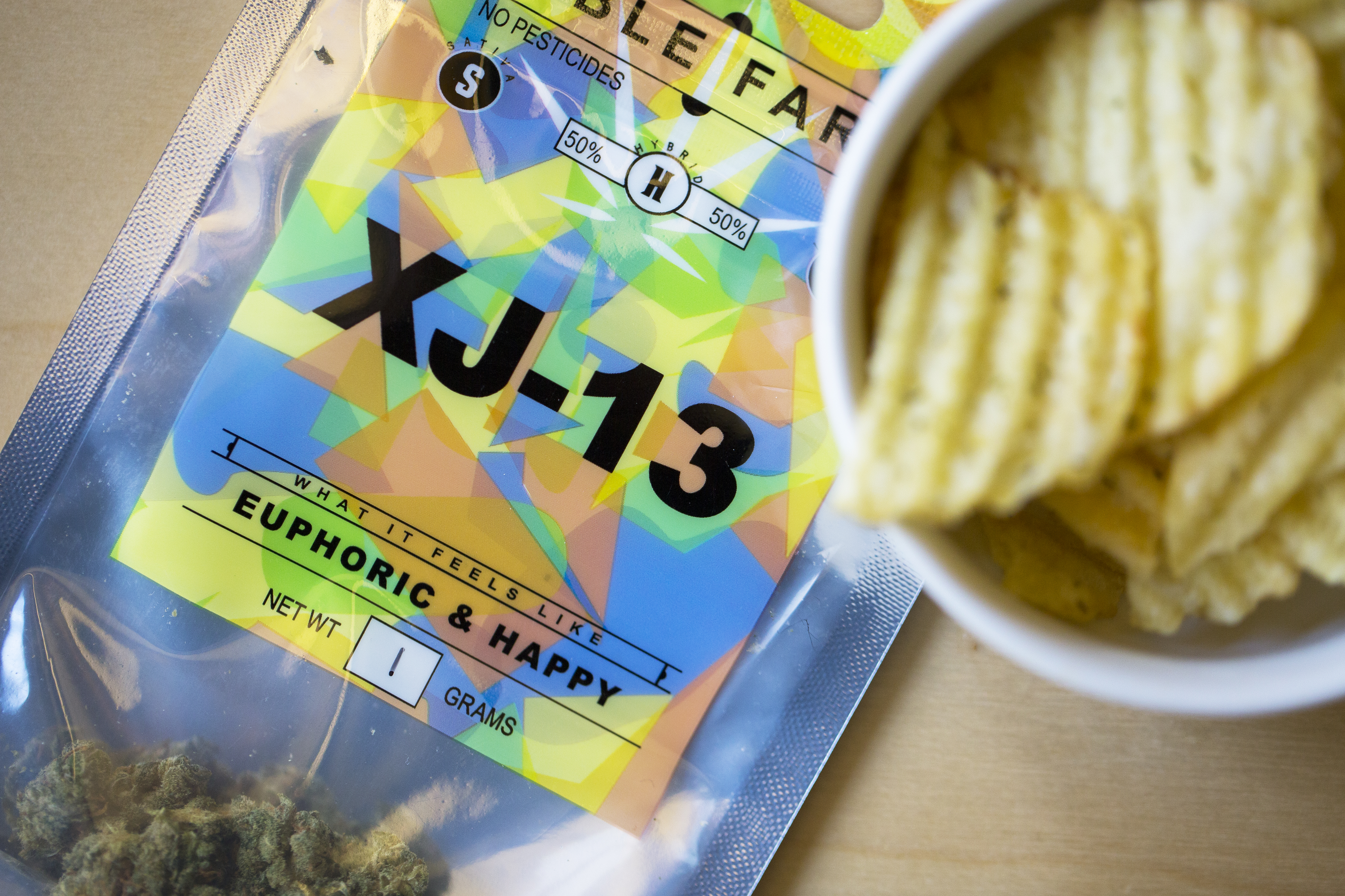 Kettle Foods Dill Pickle and XJ-13