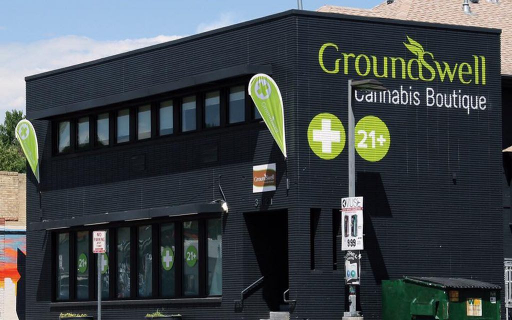 GroundSwell Cannabis Boutique Colorado Marijuana Dispensary — Leafly List Spring 2017
