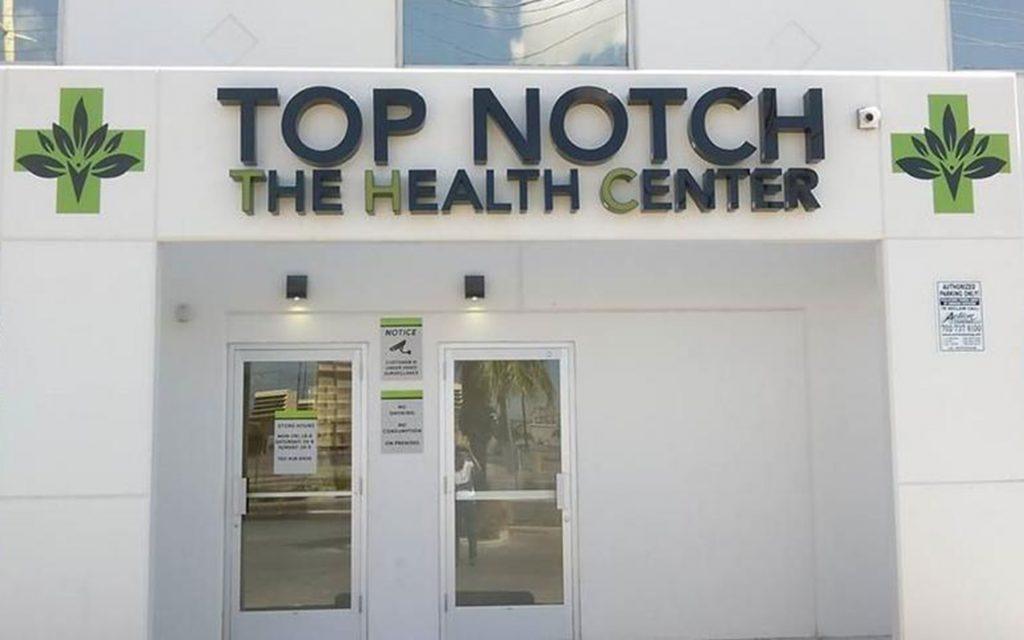 Top Notch The Health Center Nevada Medical Marijuana Dispensary — Leafly List Spring 2017
