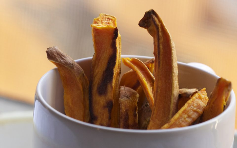 Carnival Sweet Potato Fries with Cannabutter Recipe