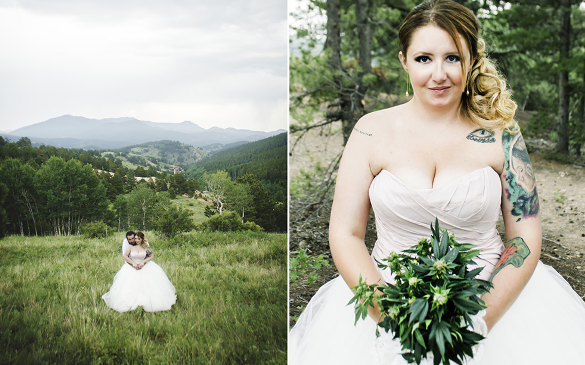 5 Real Cannabis Weddings in Photos