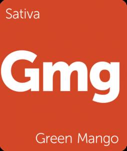 Leafly Green Mango sativa cannabis strain
