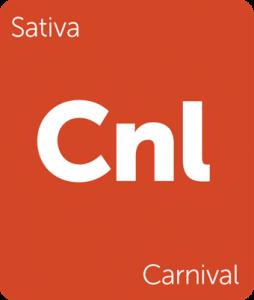 Leafly Carnival sativa cannabis strain