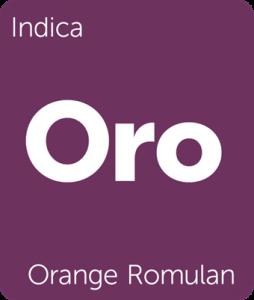 Orange Romulan Leafly cannabis strain tile