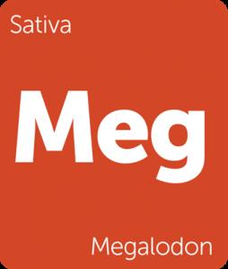 Megalodon Leafly cannabis strain tile