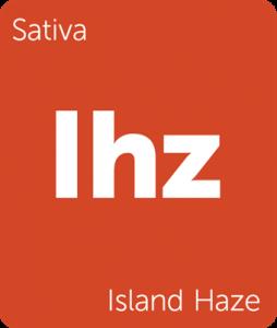 Island Haze Leafly cannabis strain tile