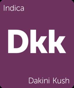 Dkk Dakini Kush Leafly cannabis strain tile