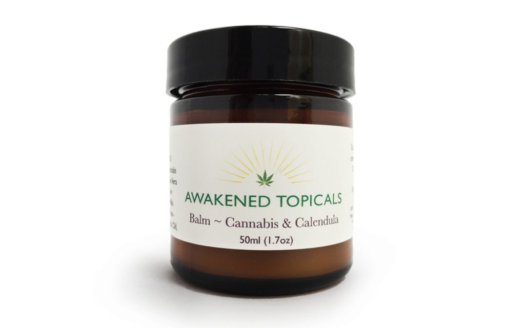 Awakened Topicals Balm — California Cannabis-Infused Massage Oil