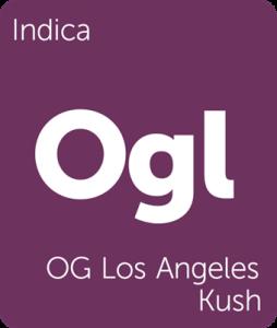 Ogl OG Los Angeles Kush Leafly cannabis strain tile