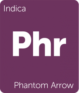 Phr Phantom Arrow Leafly cannabis strain tile