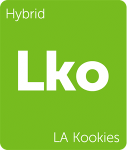 Lko LA Kookies Leafly cannabis strain tile