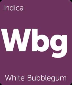 Wbg White Bubblegum Leafly cannabis strain tile