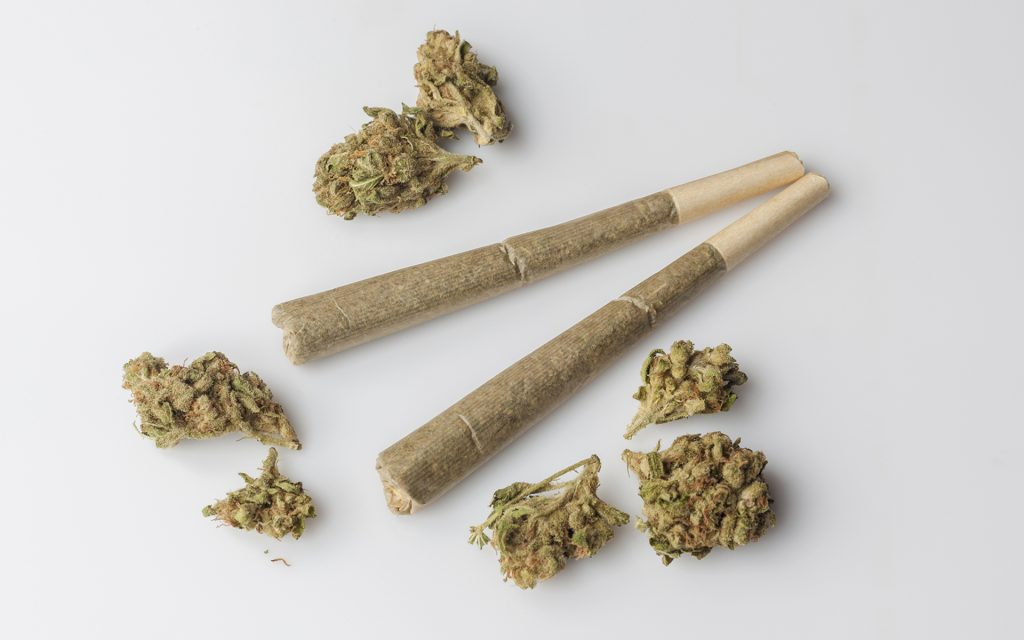 Cannabis strains and joints