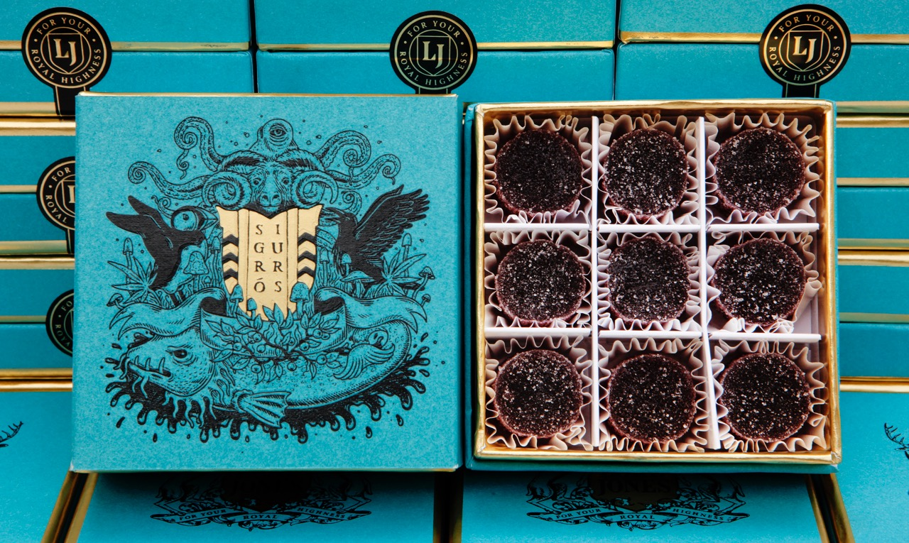 LORD JONES + SIGUR RÓS SIGURBERRY INFUSED GUMDROP BOX