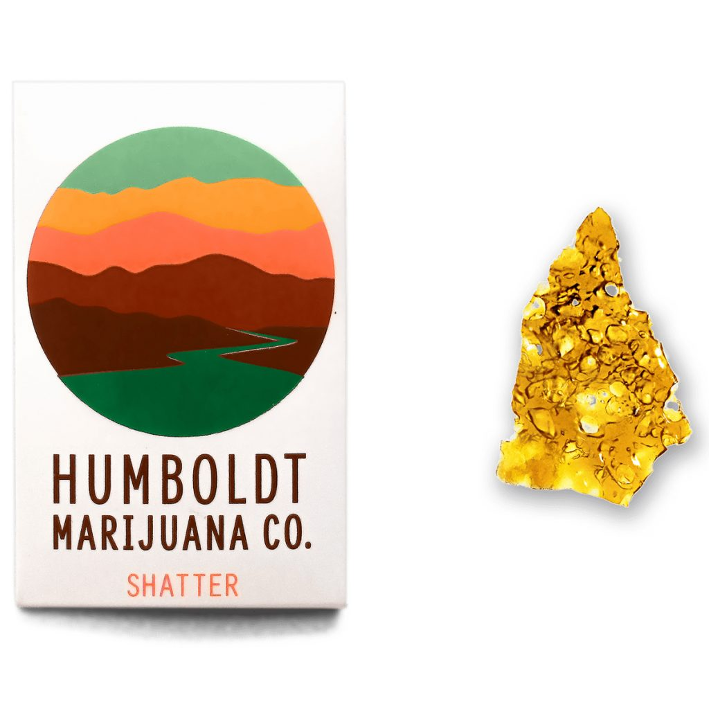 Outlaw OG Shatter from Humboldt Marijuana Co.