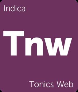 Leafly Tonics Web indica cannabis strain